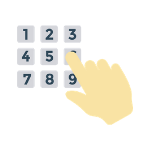 Keypads with numeric passwords